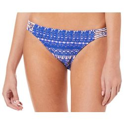 Hot Water Juniors Tribal Trip Hipster Swim Bottoms