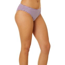 Hot Water Juniors Wild Cherry Hipster Swim Bottoms