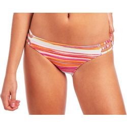 Cyn & Luca Juniors Sunset Stripe Caged Swim Bottoms