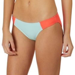 Malibu Dream Girls Juniors Colorblocked Hipster Swim Bottoms