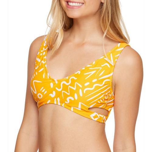 a10ff4d0b8dfd Malibu Dream Girls Juniors Geo Vibes Bralette Swim Top | Bealls Florida