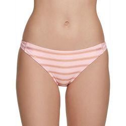 Malibu Dream Girls Juniors Metallic Stripe Swim Bottoms