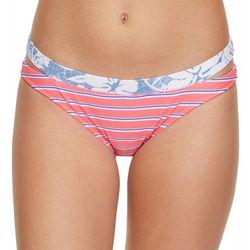 Malibu Dream Girls Juniors Trifecta Bloom Swim Bottoms