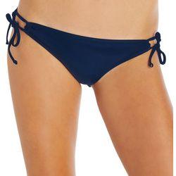 Island Soul Juniors Solid Tie Side Swim Bottoms