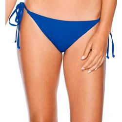 Salt Life Juniors Solid Side Tie Swim Bottoms
