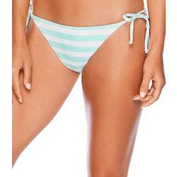 Salt Life Juniors Retro Stripe Side Tie Swim Bottoms