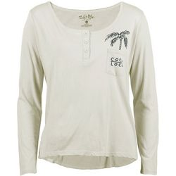 Salt Life Juniors Coco Loco Long Sleeve Henley Top