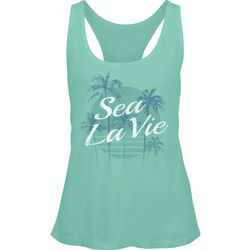 Salt Life Juniors Sea La Vie Racerback Tank Top