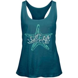 Salt Life Juniors Island Star Tank Top