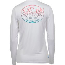Salt Life Juniors Wave Logo Long Sleeve Top