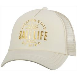 Salt Life Juniors Vacation State Of Mind Baseball Hat