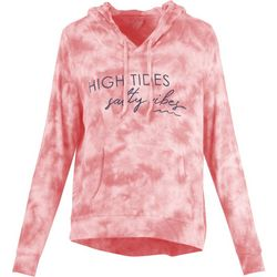 Salt Life Juniors High Tides Salty Vibes Tie Dye Hoodie