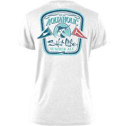 Salt Life Juniors Aquaholic T-Shirt