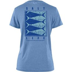 Salt Life Juniors Optic Fish Boyfriend Sunburnt T-Shirt