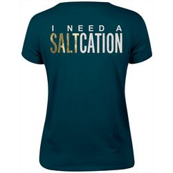 Salt Life Juniors I Need A Saltcation Graphic T-Shirt