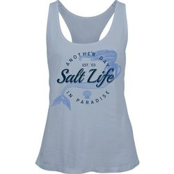 Salt Life Juniors Mermaid Screen Print Tank Top