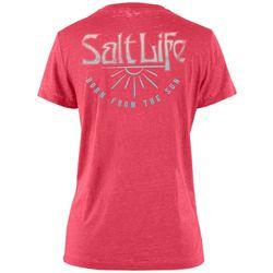 Salt Life Juniors Born From The Sun T-Shirt