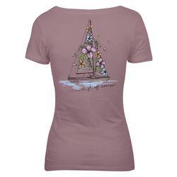 Salt Life Juniors Blooming Sail T-Shirt