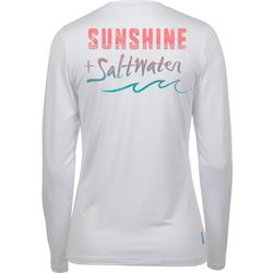 Salt Life Juniors Sunshine + Saltwater Performance Top