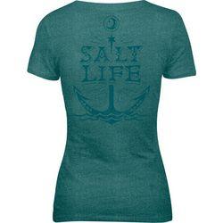 Salt Life Juniors Moon Anchor Tri-Blend T-Shirt
