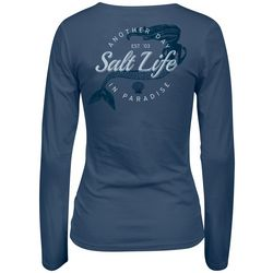 0618e9c49d Salt Life Juniors Another Day In Paradise Mermaid Top