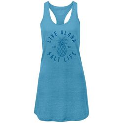 Salt Life Juniors Live Aloha Tank Dress
