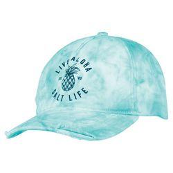 Salt Life Juniors Live Aloha Tie Dye Baseball Hat