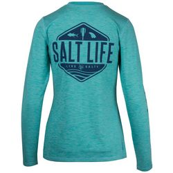 Salt Life Juniors Fish Paddle Long Sleeve Top