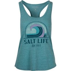 Salt Life Juniors Retro Wave Racerback Tank Top