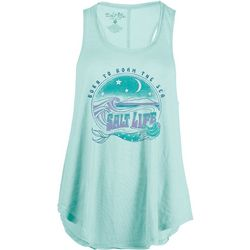Salt Life Juniors Born To Roam The Sea Tank Top