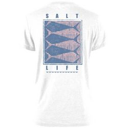 Salt Life Juniors Optic Fish Screen Print T-Shirt
