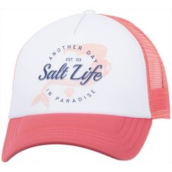 Salt Life Juniors Mermaid Another Day Paradise Baseball Hat