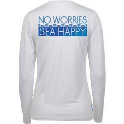 Salt Life Juniors No Worries Sea Happy Performance Top