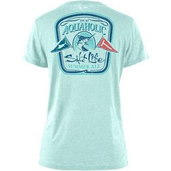 Salt Life Juniors Aquaholic Summer Ale Burnout T-Shirt