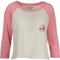 Salt Life Juniors Retro Active Raglan Top