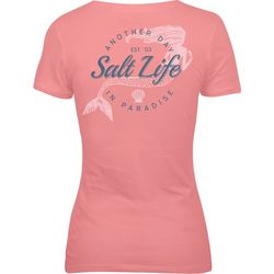 Salt Life Juniors Another Day In Paradise Mermaid T-Shirt