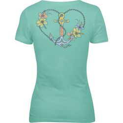 Salt Life Juniors Anchored Love T-Shirt
