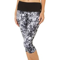 Reel Legends Juniors Keep It Cool Tie Dye Capri Leggings