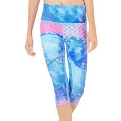 Reel Legends Juniors Keep It Cool Boho Fish Scale Capris