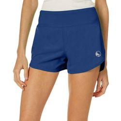 Juniors Keep It Cool Split Hem Beach Shorts