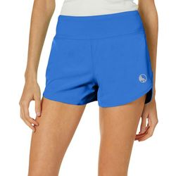 Reel Legends Womens Beach Active Solid Pull On Shorts