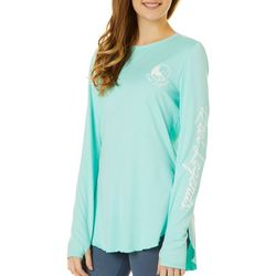 Reel Legends Juniors Marina Cover Up Long Sleeve Top
