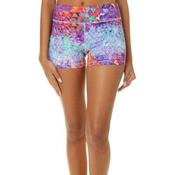 Reel Legends Juniors Keep It Cool Mixed Geo Spindrift Shorts