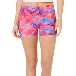 Reel Legends Juniors Keep It Cool Geometric Spindrift Shorts