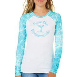 Reel Legends Juniors Keep It Cool Save The Mermaids Top