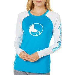 Reel Legends Juniors Keep It Cool Logo Raglan Top