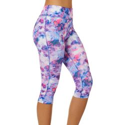 Juniors Keep It Cool Sea Salt Glitch Leggings
