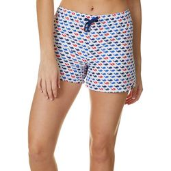 Chubby Mermaids Juniors Manatee Print Board Shorts