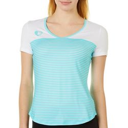 Chubby Mermaids Juniors Striped Manatee Coordinates Top