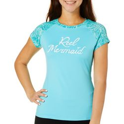 Reel Legends Juniors Keep It Cool Reel Mermaid Top